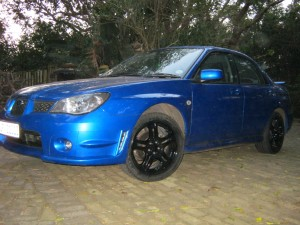 The Subaru!